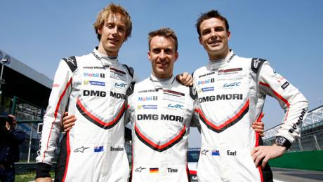 Bamber, Bernhard and Hartley are a long-distance kings