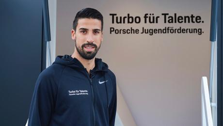 """Khedira new envoy for """"Turbo for Talents"""""""