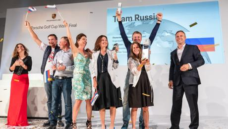 Team Russia triumphs during fifth World Final