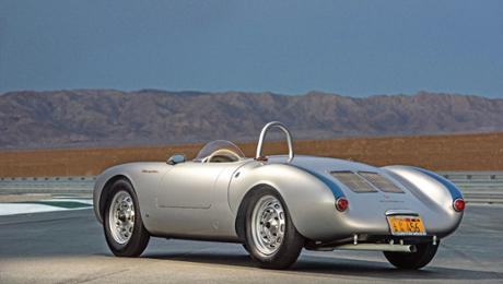 Unforgotten: The Porsche 550 Spyder