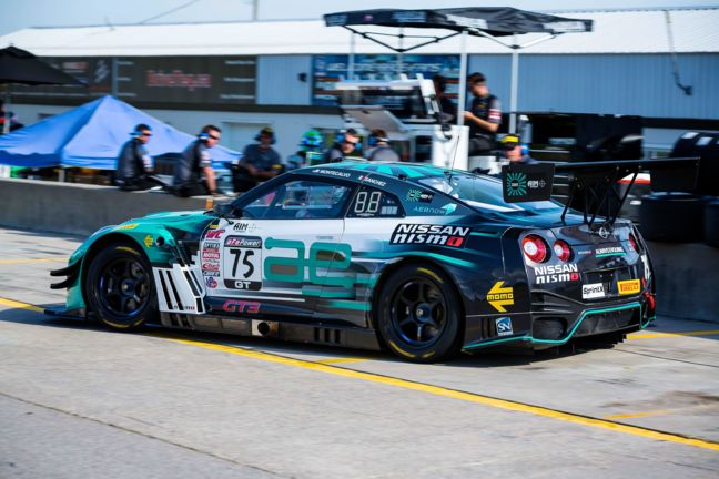 Ready to race: AEPerformance's Nissan GT-R NISMO GT3