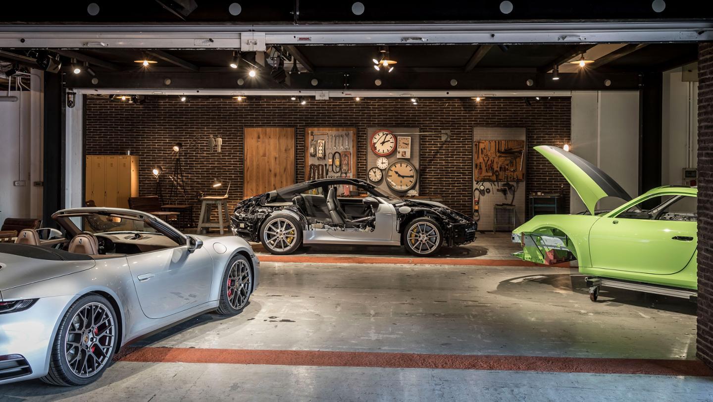 992 presentation, Valencia, 2019, Porsche AG