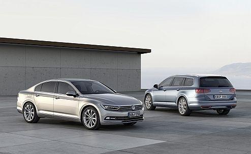 The new Volkswagen Passat and Passat Variant