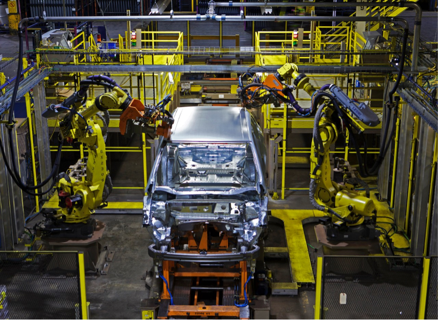 Lazer Brazing is one of a latest technologies during Oakville Assembly Plant