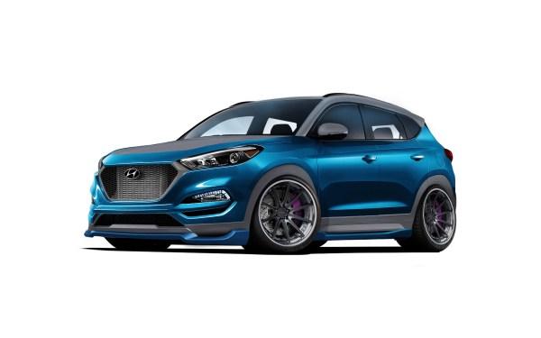 Hyundai Taps Vaccar to Create Vaccar Tucson Sport Concept for 2017 SEMA Show