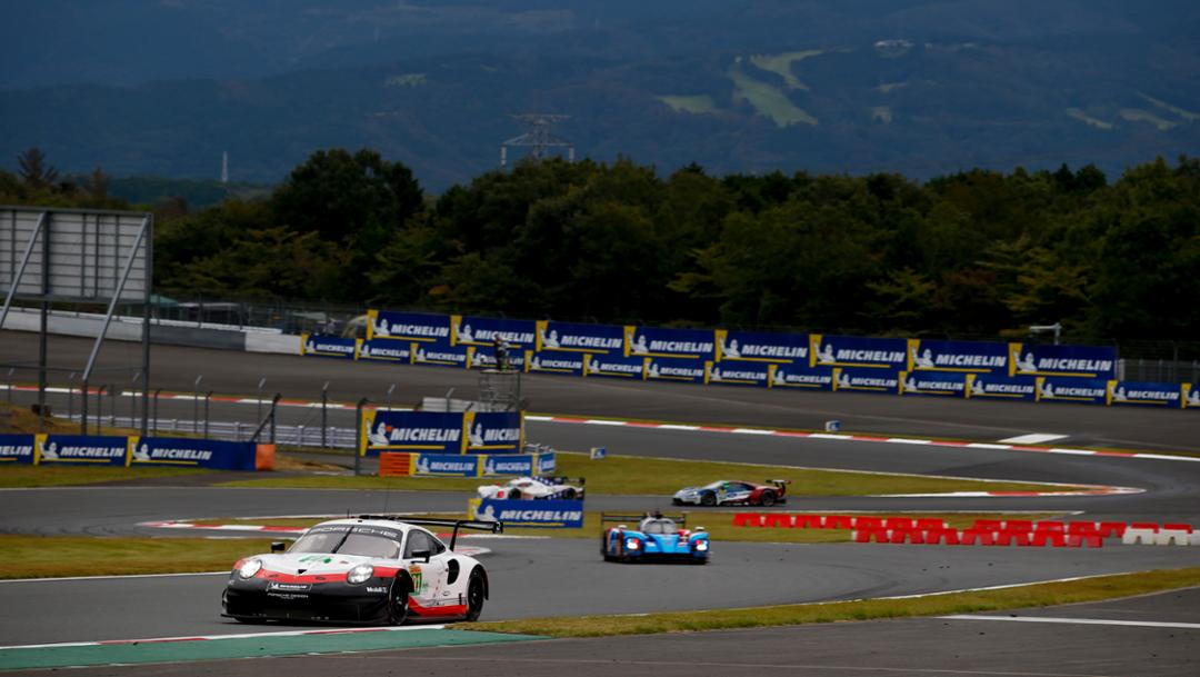 911 RSR, qualifying, Fuji, FIA WEC, 2018, Porsche AG