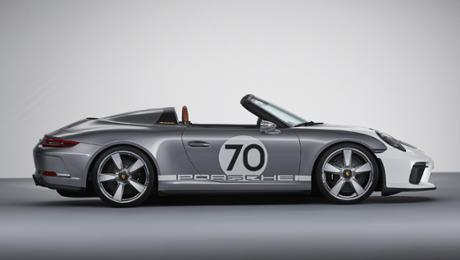 The Porsche 911 Speedster Concept: open-top and pristine