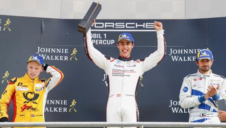 Lights-to-flag feat for Porsche Junior Preining