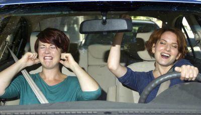 In automobile singing