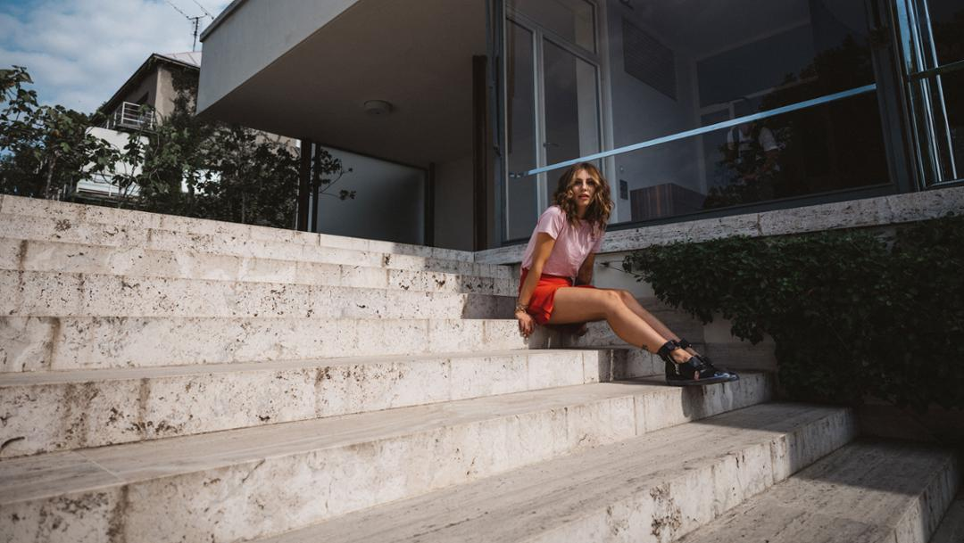 Masha Sedgwick, conform blogger, 2018, Porsche AG
