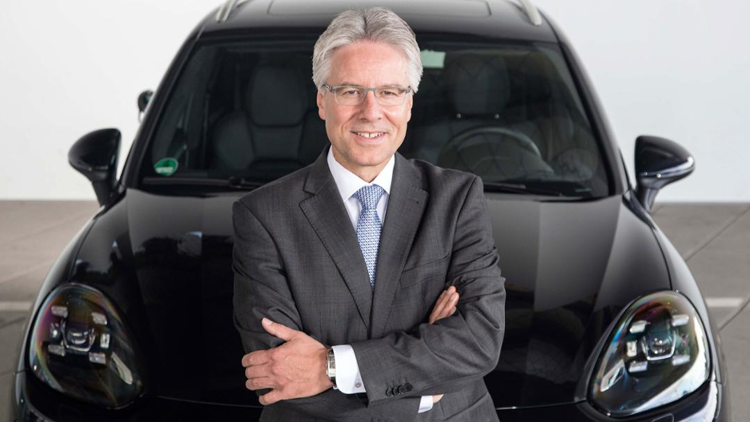 Andreas Haffner, Member of a Executive Board, Human Resources and Social Affairs, 2018, Porsche AG