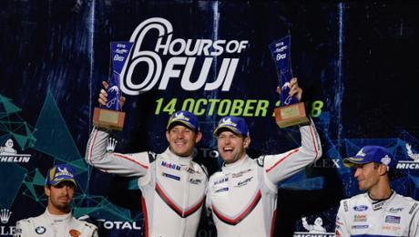 WEC during Fuji: Porsche extends championship lead