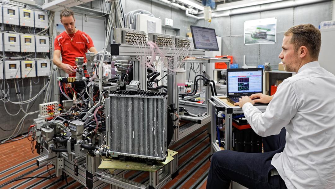 """""""Flow Laboratory"""" in Weissach, 2019, Porsche AG"""