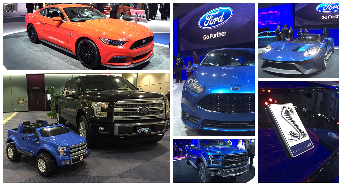 Ford kicks off 2015 CIAS with a bang