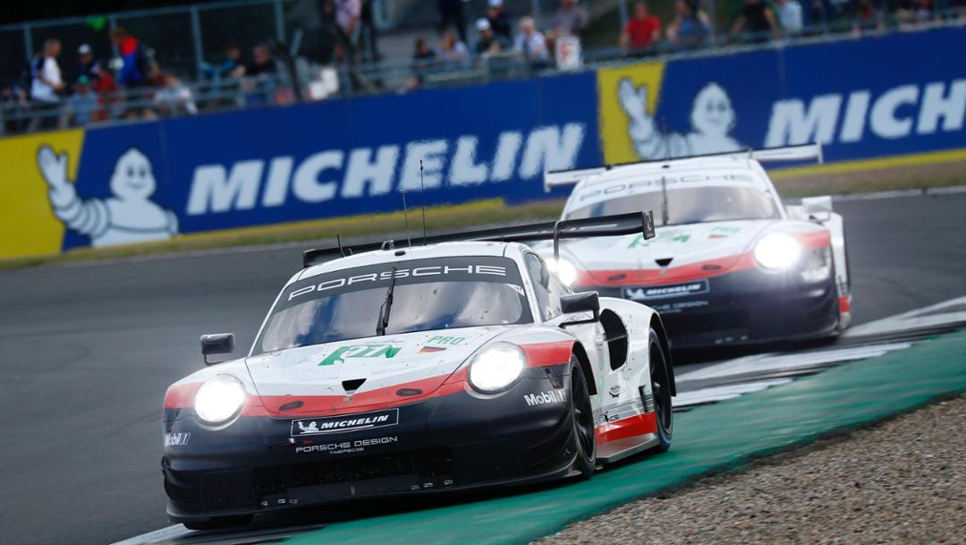 911 RSR, race, Silverstone, FIA WEC, 2018, Porsche AG