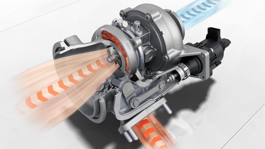Turbocharger, 2019, Porsche AG