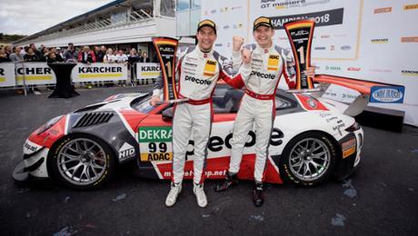 Porsche wins championship pretension in a ADAC GT Masters