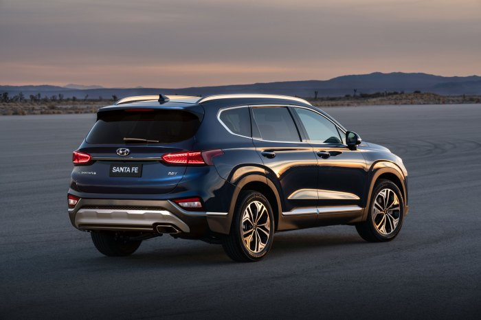 The All-New 2019 Santa Fe Makes a United States Debut during a New York International Auto Show