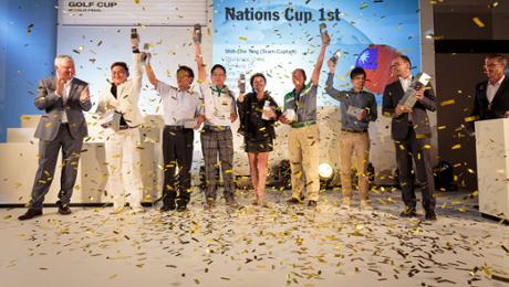 Taiwan wins Porsche Golf Cup
