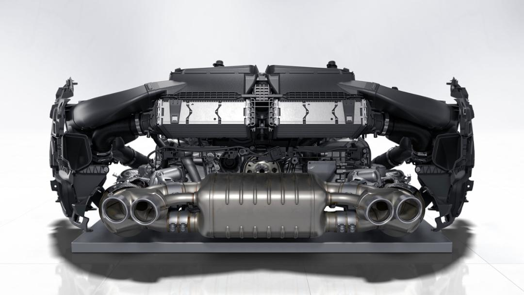 Six-cylinder fighter engine, 2019, Porsche AG