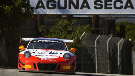 Fourth place for Porsche 911 GT3 R during a deteriorate finale