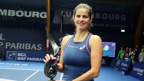 Julia Görges wins WTA contest in Luxemburg