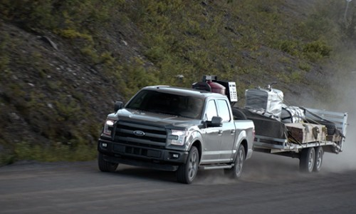 2015 Ford F-150 creates a initial outing north of a Arctic Circle