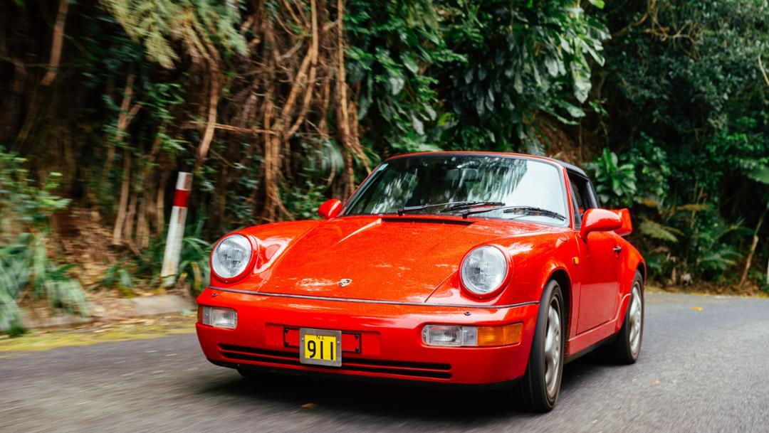 Duncan Sanderson, 911 Targa (Type 964), Norfolk Island, Australia, 2018, Porsche AG