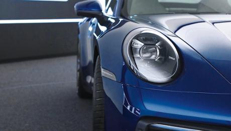 The new 911: Stronger. Racier. Sharper.