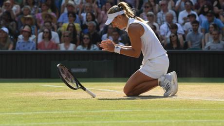 Angelique Kerber triumphs in Wimbledon
