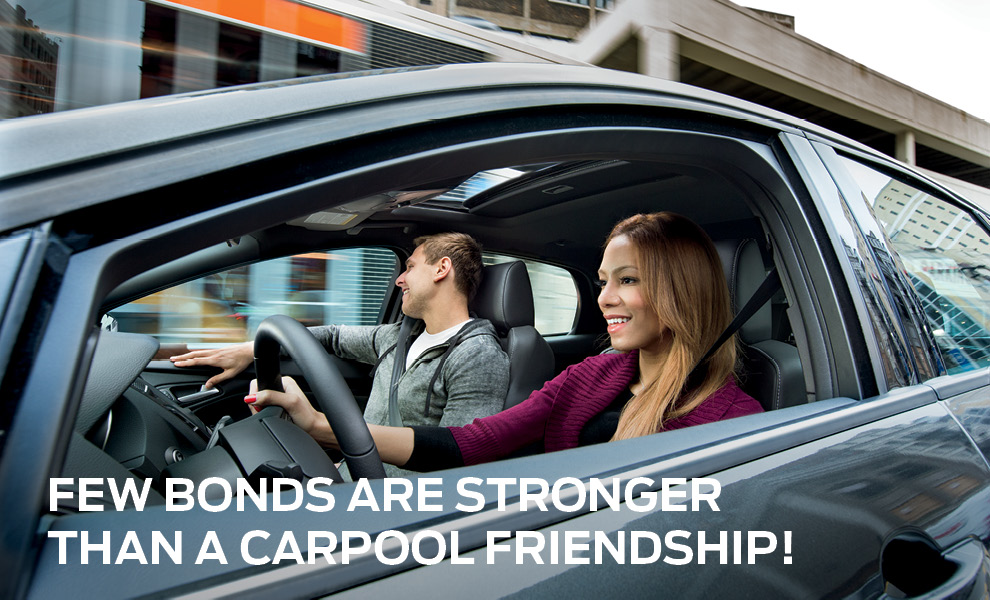 Carpooling and friendship