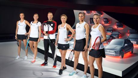 Porsche Team Germany visits a Autostadt