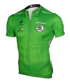 ŠKODA is now a new central partner of a immature jersey for a best competitor in both a Tour de France and Tour of Spain (La Vuelta).