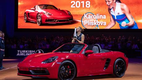 Karolina Pliskova is a new Stuttgart tennis queen