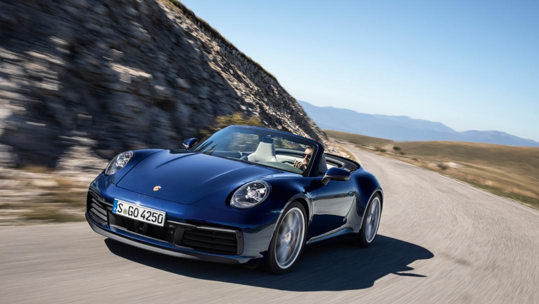 911 Carrera 4S Cabriolet, 2019, Porsche AG