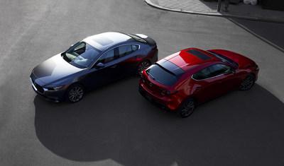 2019 Mazda3 and Mazda3 Sport (CNW Group/Mazda Canada Inc.)