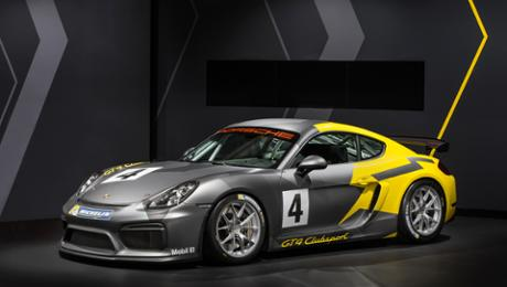 World premiere: The new Cayman GT4 Clubsport