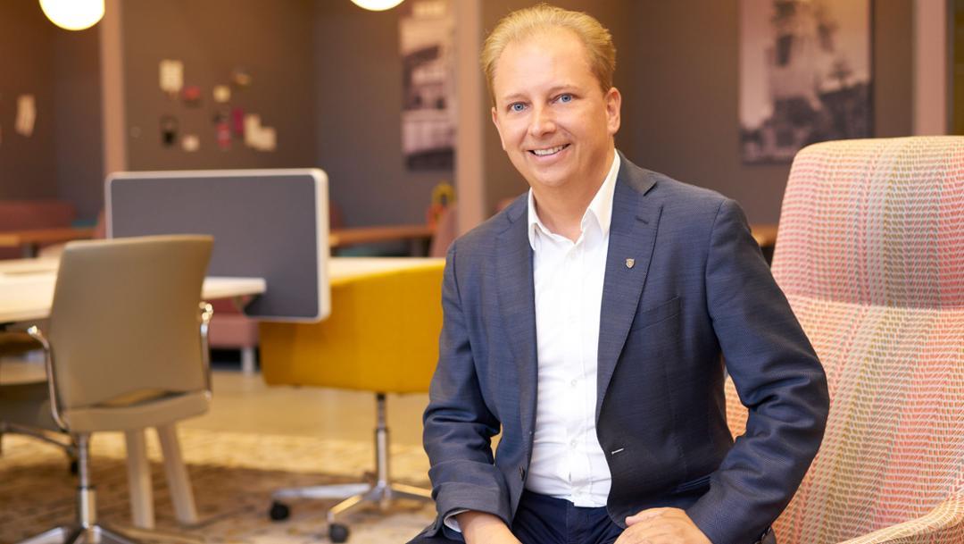 Thilo Koslowski, CEO of Porsche Digital, Silicon Valley, 2017, Porsche AG