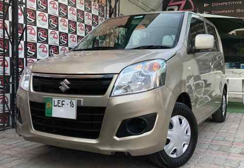 small resolution of suzuki wagon r model 2016 reg 2016 colour golden millage 26000 km 1st owner