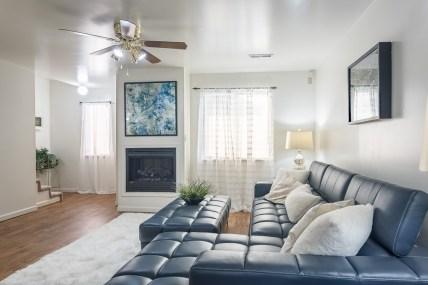 Ridgedale Townhomes Living Room side shot