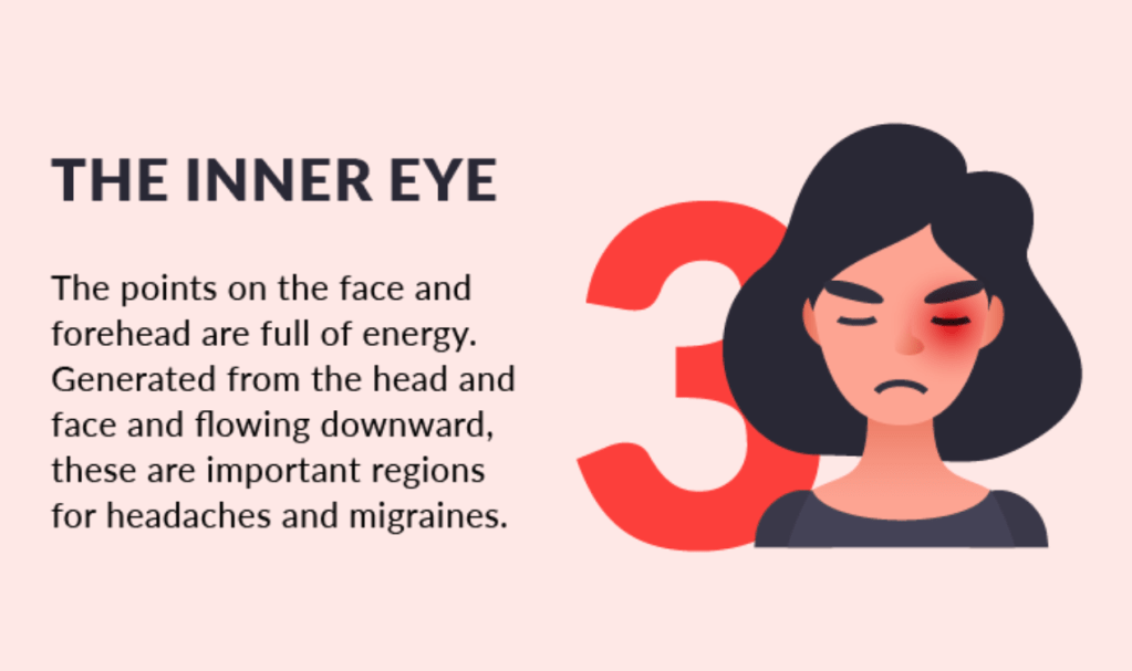 6 Acupressure Regions to Treat Migraines and Headaches