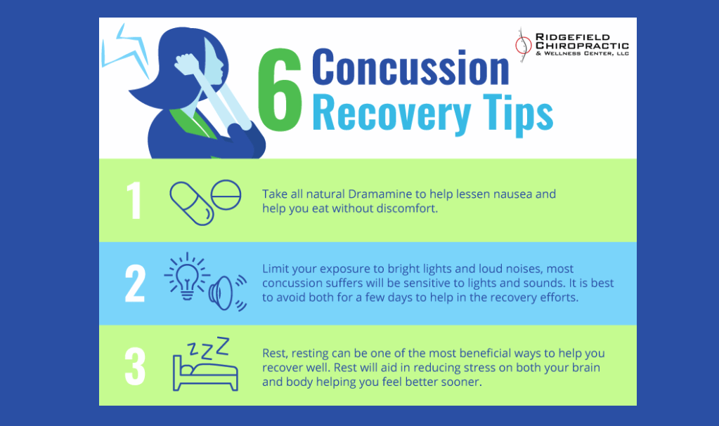 6 Concussion Recovery Tips