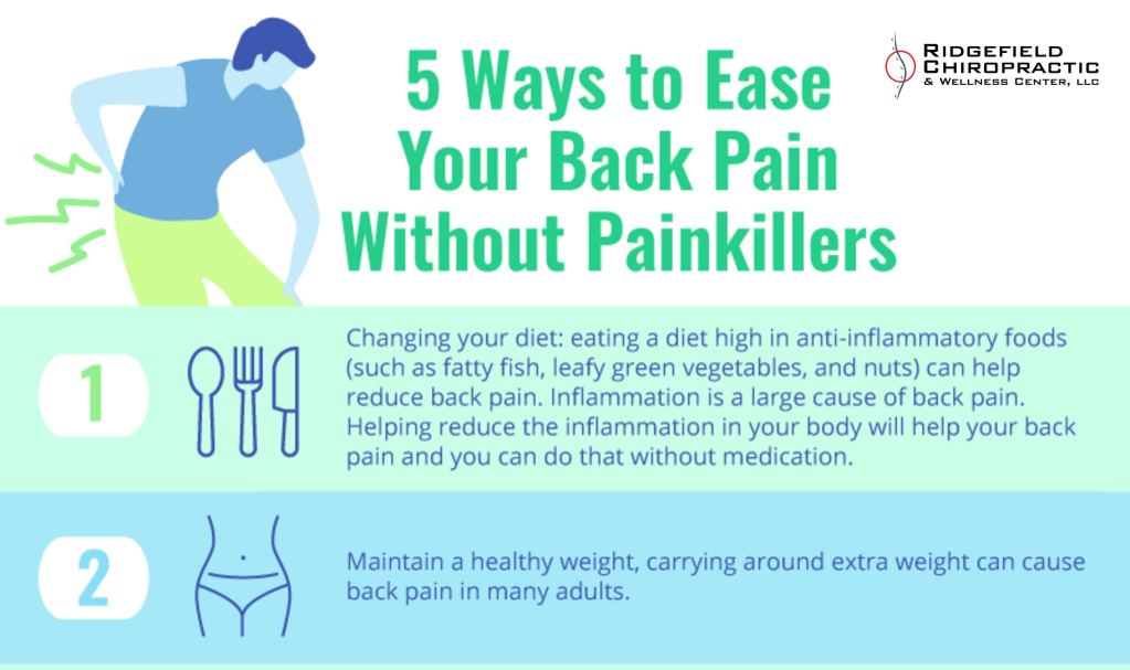 5 Ways to Ease Your Back Pain without Painkillers