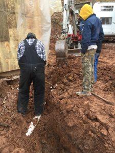 Digging water lines--practical homeschool