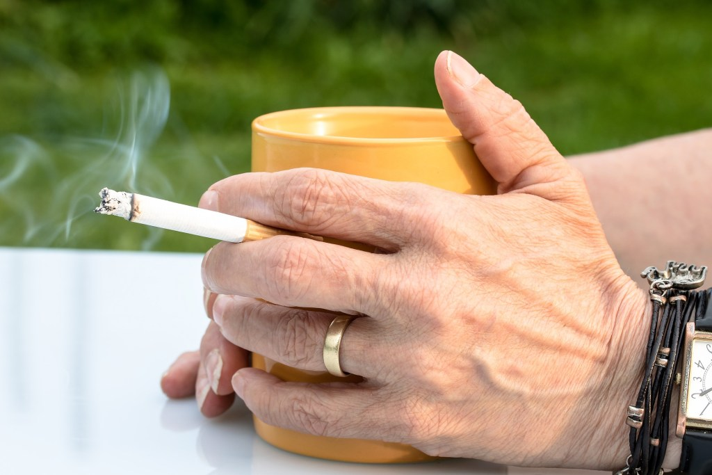 coffee and cigarettes suppress immune system