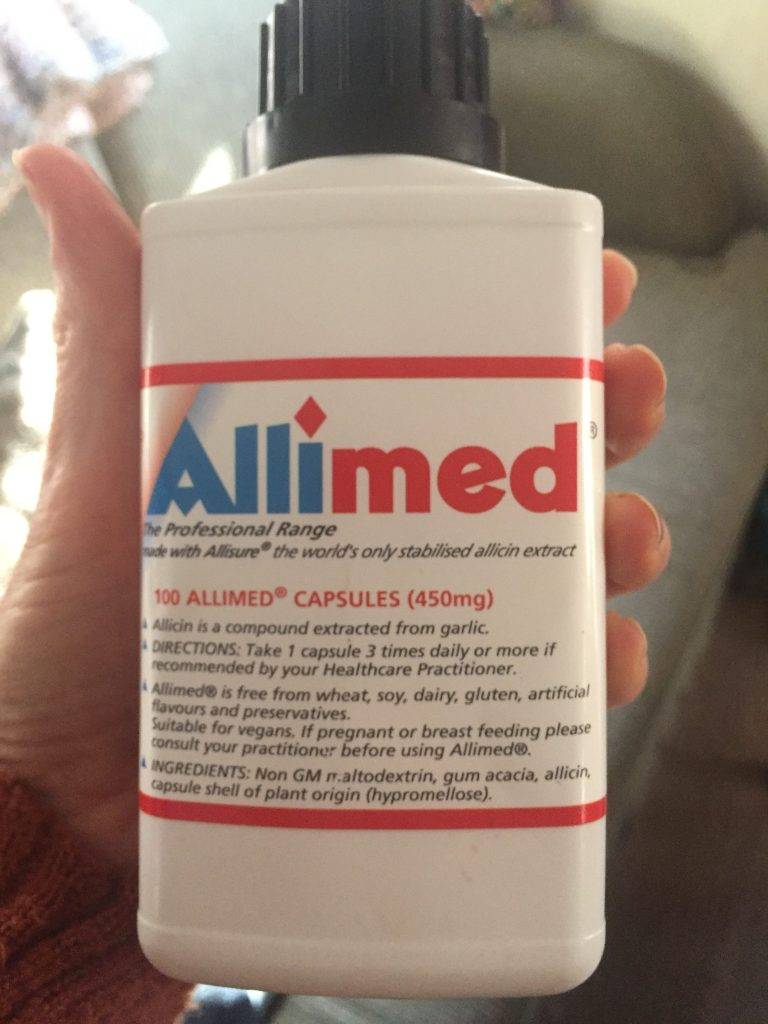 Allimed for sinusitis