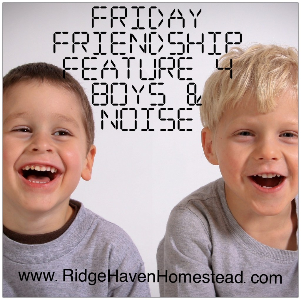 Friday Friendship Feature. Boys laughing.