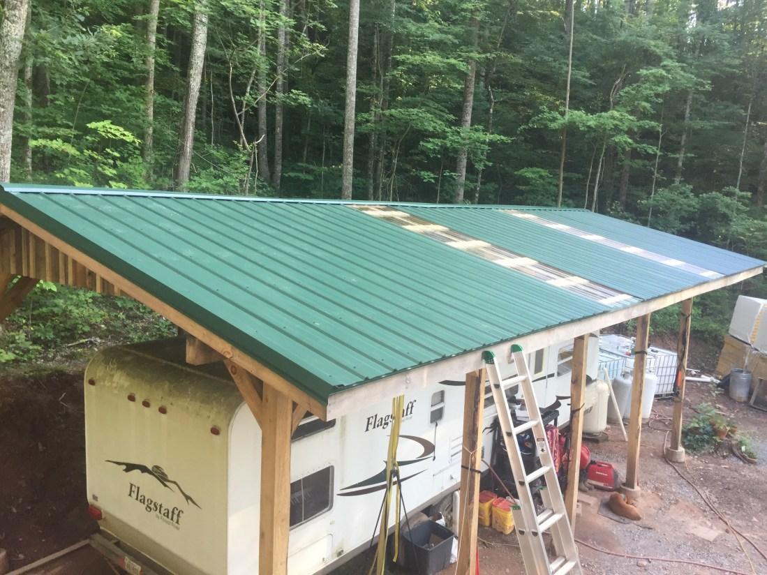 Homestead building update