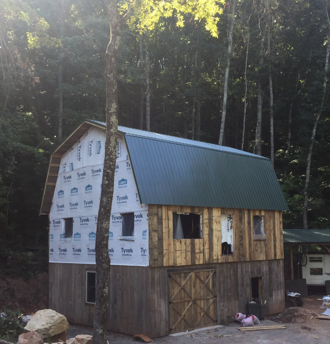 Super insulated cabin roof