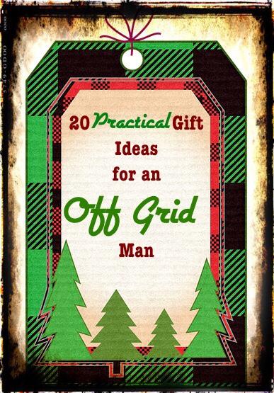 Gift ideas off grid man